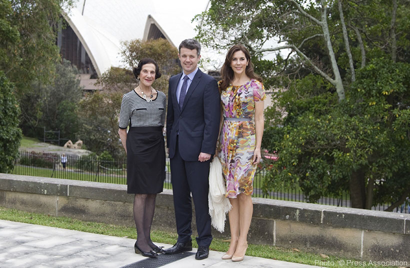 Danish Royals State visit to Australia