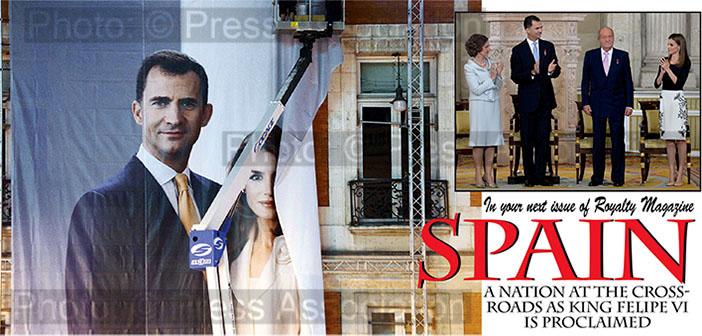 King Felipe VI of Spain Proclaimed
