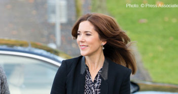 Crown Princess Mary visits Tietgen Business School