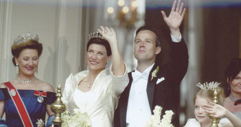 May 24, 2002. Princess Martha Louise of Norway weds Ari Behn.