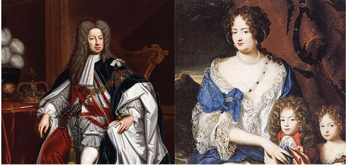 King George I and Sophia Dorothea of Celle