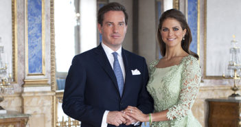 Princess Madeleine of Sweden and Mr. Chris O'Neill