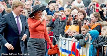 King Willem-Alexander and Queen Maxima visited the multifunctional center De Deele in Emmer-Compascuum, Netherlands