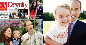 Prince George' on his second birthday by Mario Testino